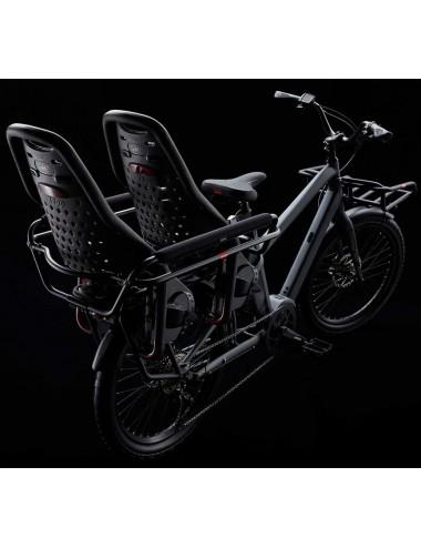 Benno Boost E 10D avec accessoires (Utility Front Tray, High Rail Plus, Rail Pad et sièges enfants)