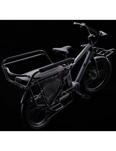 Benno Boost E 10D avec accessoires (Utility Front Tray, High Rail Plus, Rail Pad, Rack Pad et Wheel Guard Set)