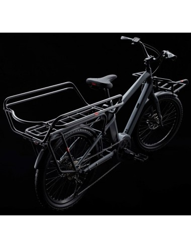 Benno Boost E 10D avec accessoires (Utility Front Tray et High Rail Plus)
