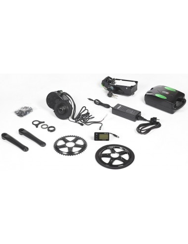 Swyff E-Kit Mid Drive + Batterie Saddle Bag