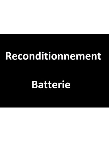 Reconditionnement Batterie