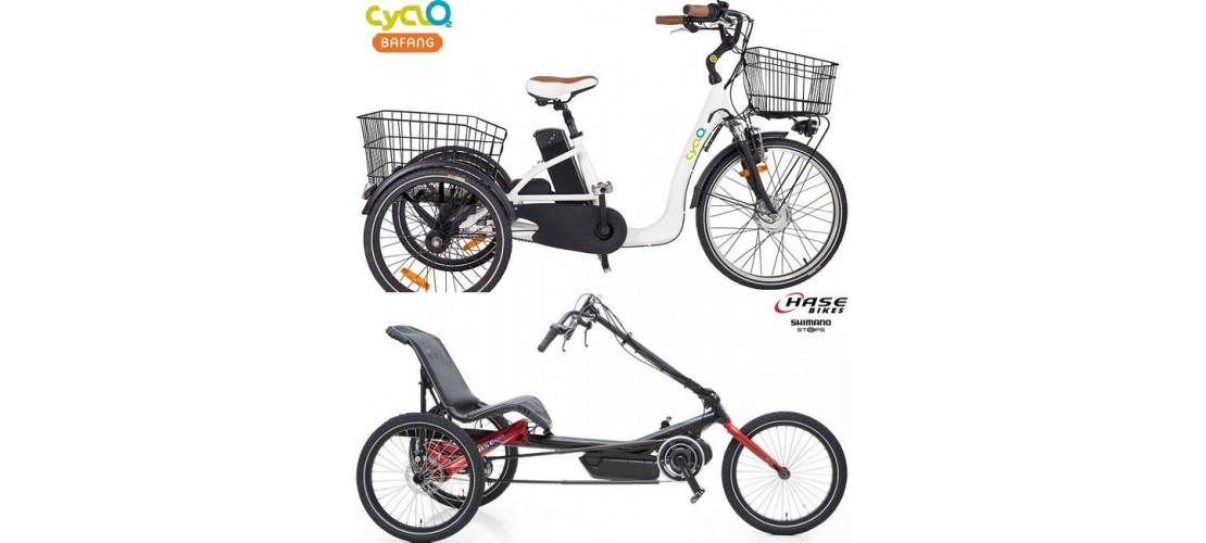 Tricycles Cyclo2, Hase Bikes & Pfiff